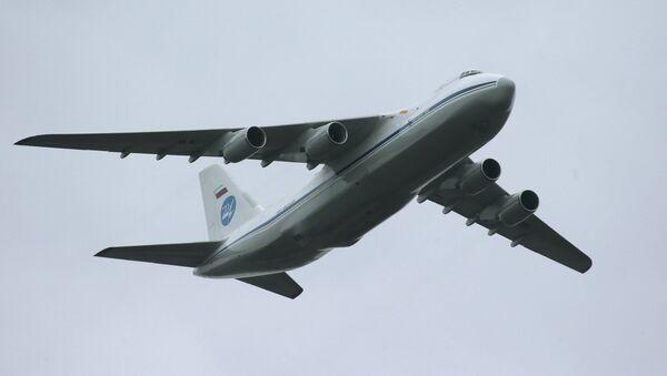 Antonov An-124 Condor/Ruslan strategic airlifter - Sputnik Česká republika