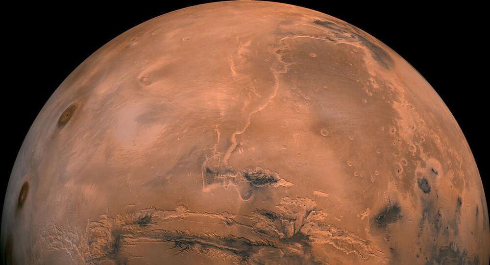 Mars. Ilustrační foto