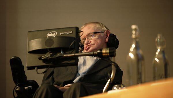 Britský vědec Stephen Hawking - Sputnik Česká republika