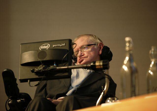 Britský vědec Stephen Hawking