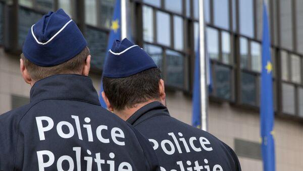 Belgičtí policisté - Sputnik Česká republika