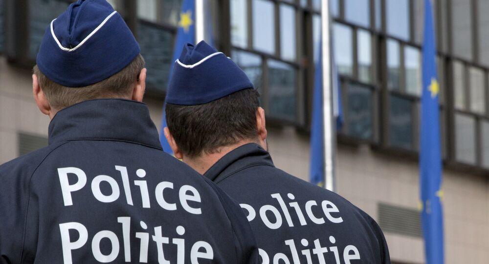 Belgičtí policisté