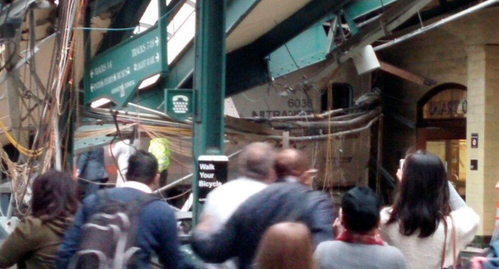 Nehoda vlaku v New Jersey, 29. září 2016.