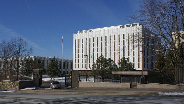Budova velvyslanectví Ruska v USA - Sputnik Česká republika
