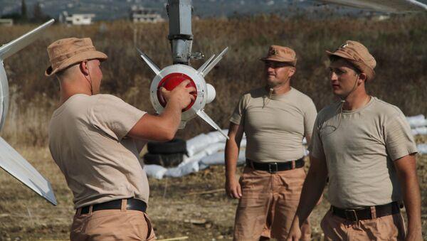 Ruské letectvo v Sýrii. Archivní foto - Sputnik Česká republika