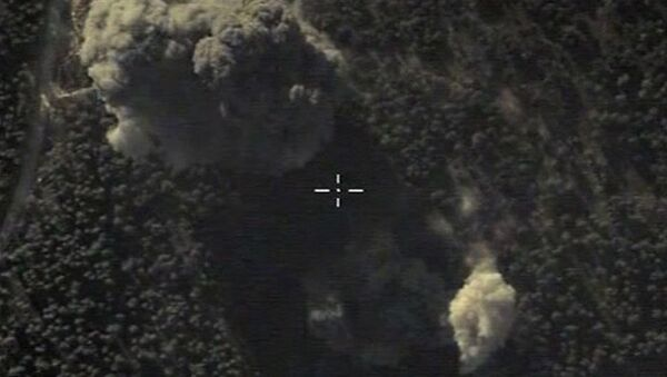 Letecké údery ruských VKS v Sýrii - Sputnik Česká republika