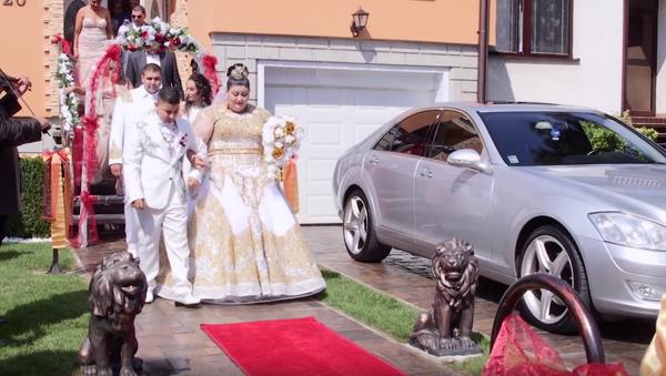 Luxusní svatba romů na Slovensku se stala na YouTube hitem - Sputnik Česká republika