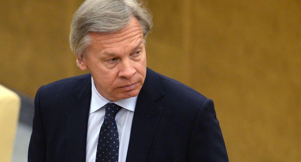 Bývalý předseda Mezinárodního výboru Státní dumy Alexej Puškov