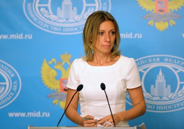 Tisková mluvčí Ministerstva zahraničních věcí Ruska Maria Zacharovová