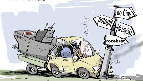 Poraď Hollandovi, co má dělat s Mistraly - Sputnik Česká republika