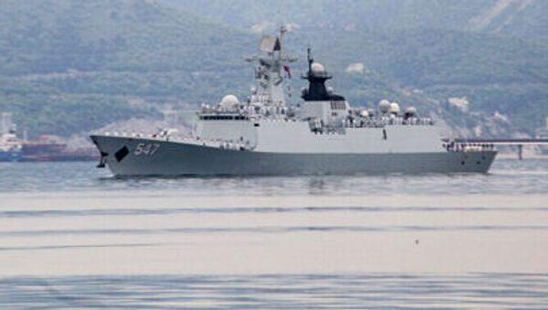 Čínská loď v Novorossijsku - Sputnik Česká republika