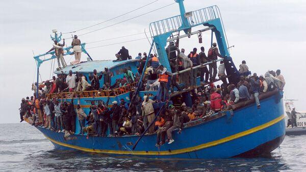 Uprchlíci z Afriky - Sputnik Česká republika