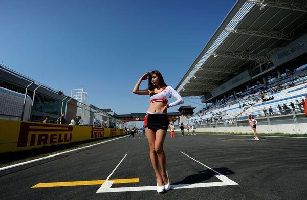 Dívky Formule 1 - Sputnik Česká republika
