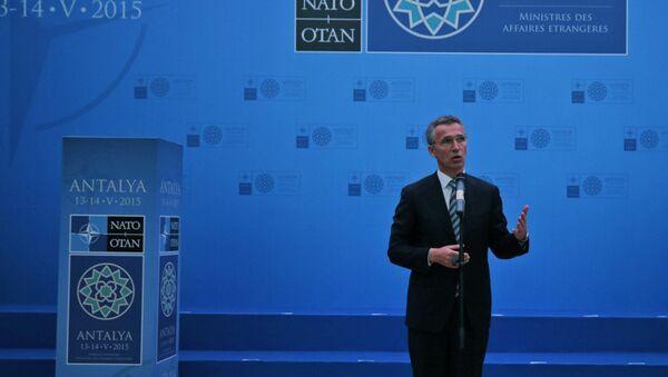 Generální tajemník NATO Jens Stoltenberg - Sputnik Česká republika