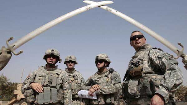 Američtí vojáci v Iráku - Sputnik Česká republika