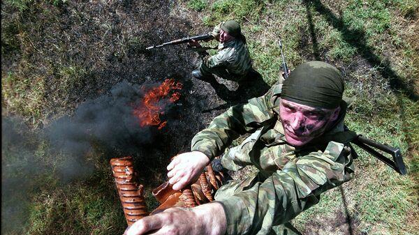 149. motostřelecký pluk na základně Tádžikistánu - Sputnik Česká republika