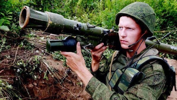Учения 5-й общевойсковой армии в Приморском крае - Sputnik Česká republika