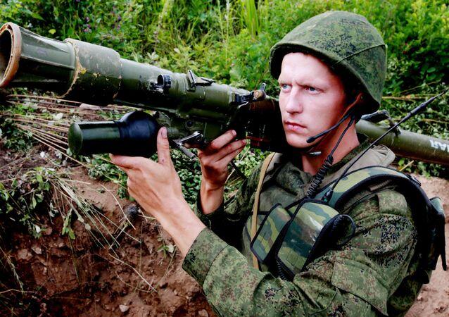 Учения 5-й общевойсковой армии в Приморском крае
