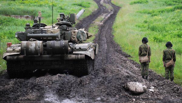 Tank T-90 v Severní Osetii - Sputnik Česká republika