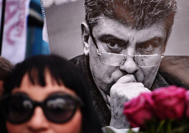 Portrét Borise Němcova