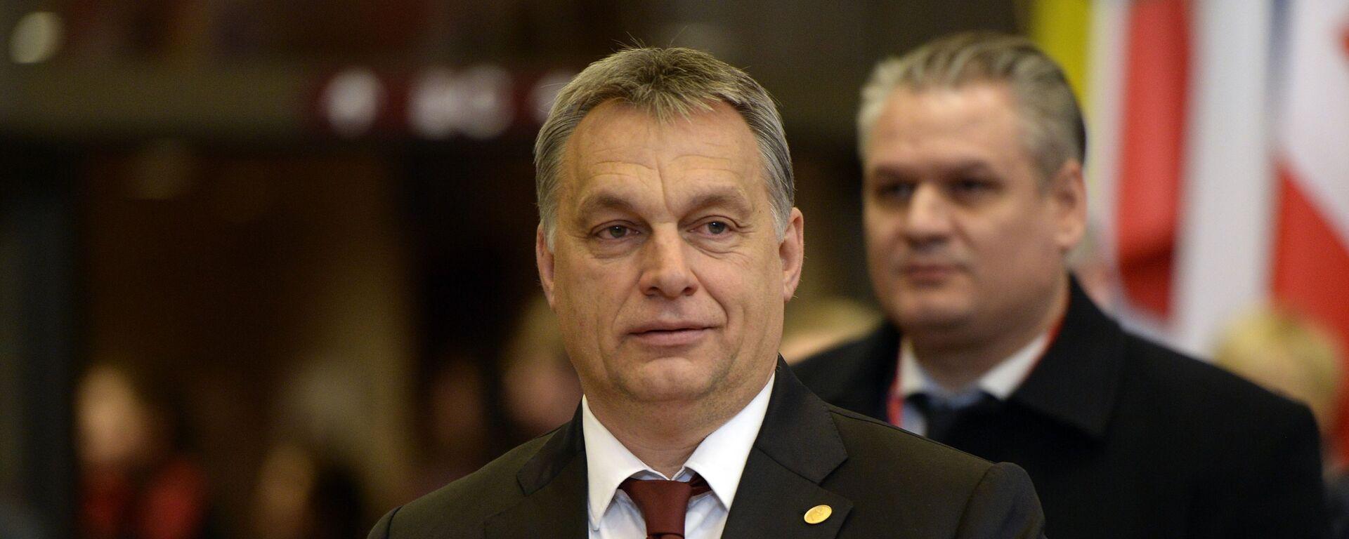 Maďarský premiér Viktor Orbán - Sputnik Česká republika, 1920, 21.07.2021