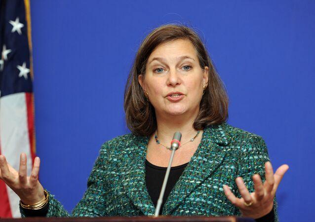 Náměstkyně ministra zahraničí USA pro evropské a eurasijské záležitosti Victoria Nulandová