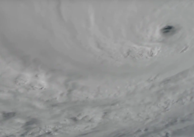 "Mohutný hurikán ""Matthew"" z paluby ISS"