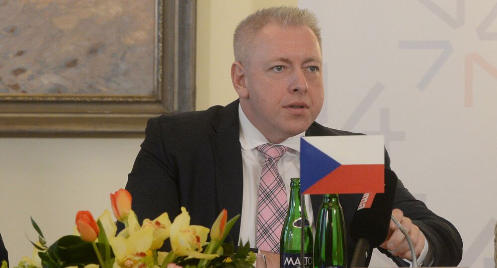 Český ministr vnitra Milan Chovanec