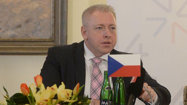 Český ministr vnitra Milan Chovanec - Sputnik Česká republika