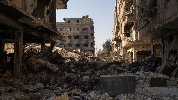 Damašek, Sýrie - Sputnik Česká republika