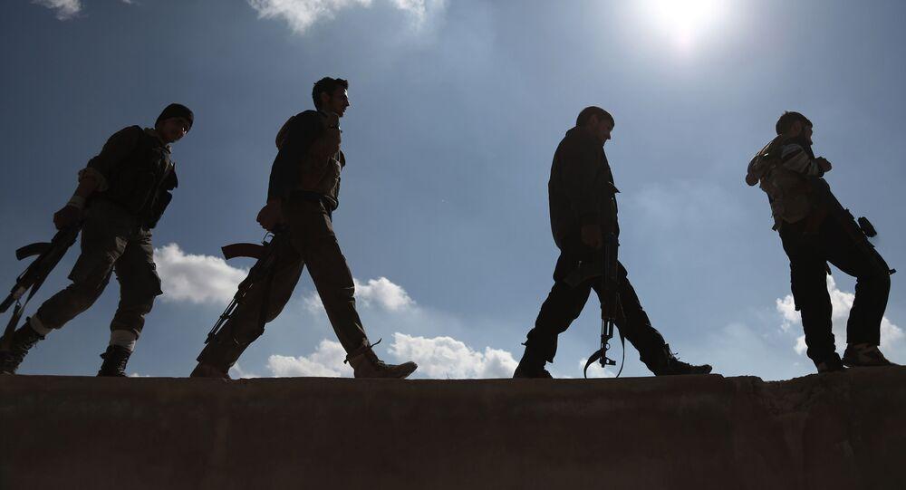 Syrská ozbrojená opozice. Archivní foto