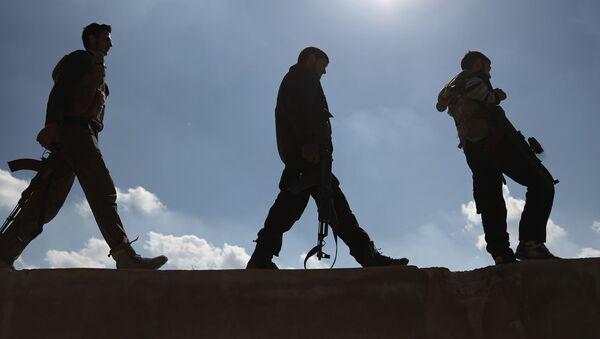 Syrská ozbrojená opozice. Ilustrační foto - Sputnik Česká republika