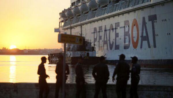 Корабль мира в порту Кубы - Sputnik Česká republika