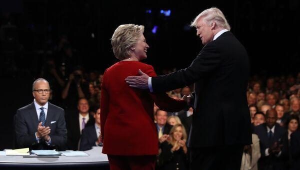 Hillary Clintonová a Donald Trump - Sputnik Česká republika