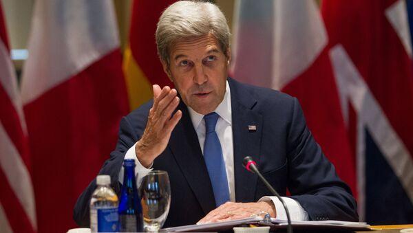 Ministr zahraničních věcí USA John Kerry - Sputnik Česká republika