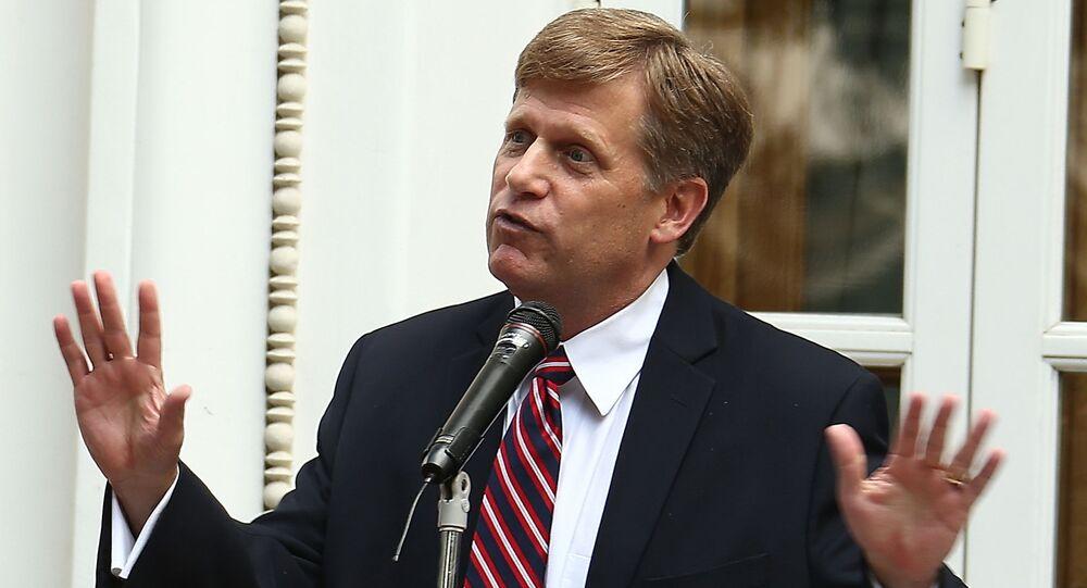 Bývalý americký velvyslanec v Rusku Michael McFaul