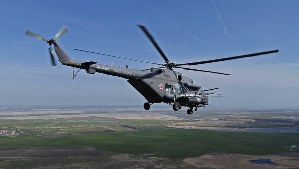 Vrtulník Mi-8. Ilustrační foto - Sputnik Česká republika
