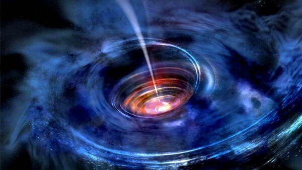 Černá díra (ilustrační snímek)  - Sputnik Česká republika