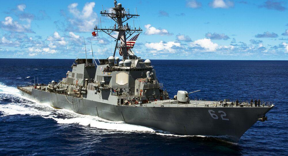 Americká vojenská loď třídy Arleigh Burke