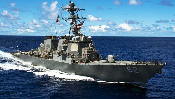Americká vojenská loď třídy Arleigh Burke  - Sputnik Česká republika