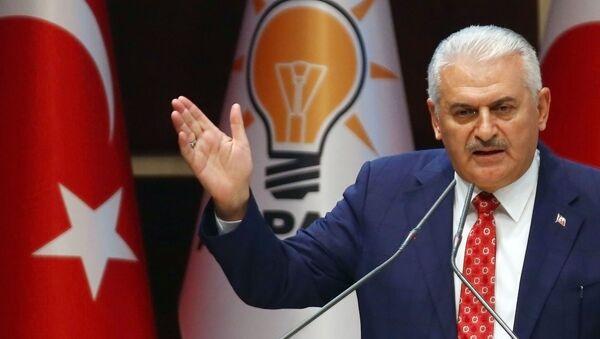 Премьер-министр Турции Бинали Йылдырым - Sputnik Česká republika