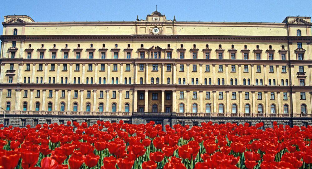Budova FSB na Lubjanském náměstí v Moskvě
