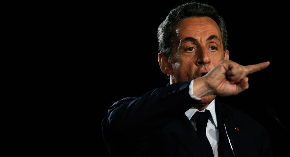 Bývalý francouzský prezident, předseda největší opoziční strany Republikáni Nicolas Sarkozy