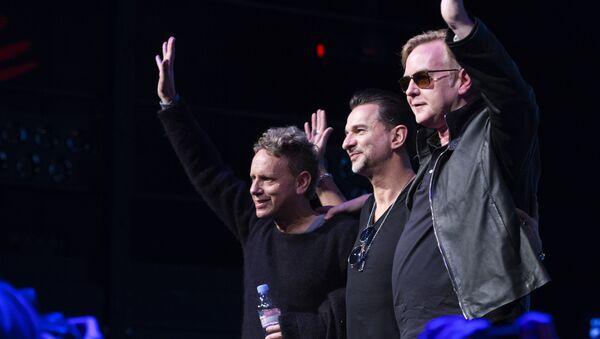 Britská rocková skupina Depeche Mode - Sputnik Česká republika