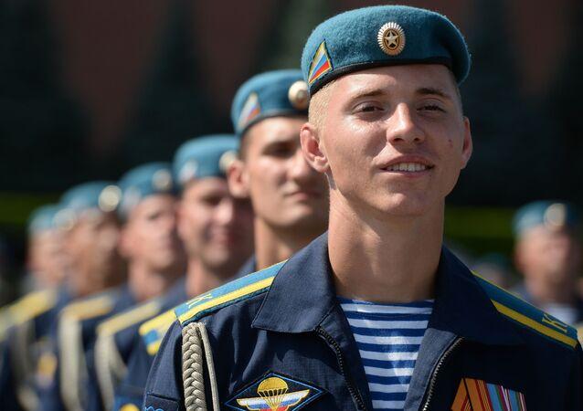 Ruští výsadkáři. Ilustrační foto