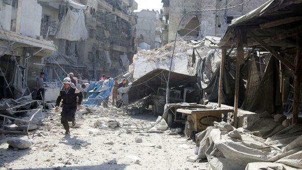 Ulice v Aleppu - Sputnik Česká republika