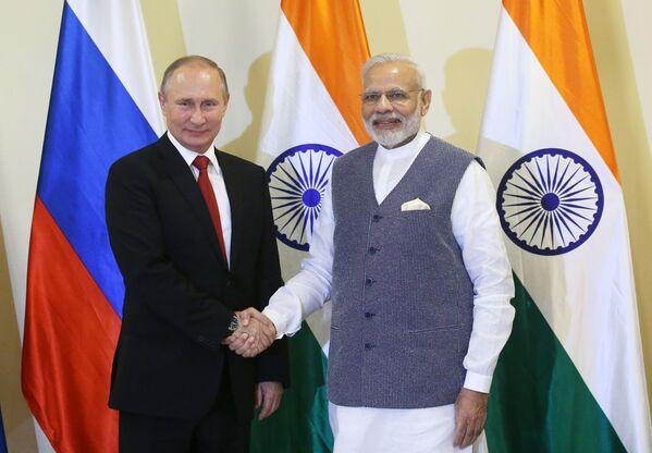 Návštěva Indie Vladimirem Putinem - Sputnik Česká republika