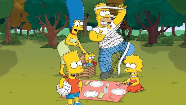 Seriál Simpsonovi - Sputnik Česká republika
