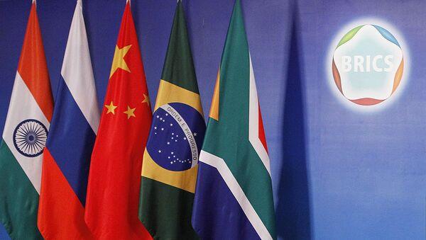 Vlajky členských států BRICS - Sputnik Česká republika