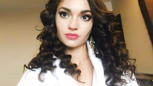 Победительница международного конкурса красоты Face of Beauty International – 2016 Алена Раева - Sputnik Česká republika
